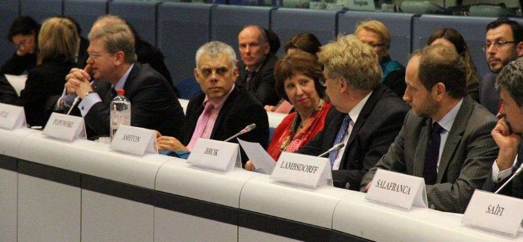 The Board of Governors Meeting of the EED was co-chaired by HR/VP Ashton and MEP Brok